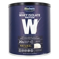 BioChem by Country Life - Biochem 100% Whey Protein Powder Natural - 24.6 oz.