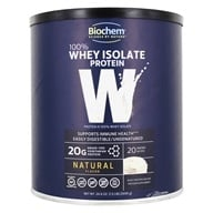 Biochem by Country Life - Biochem 100% Whey Protein Powder Natural - 24.6 oz. (015794018414)