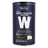 BioChem by Country Life - Biochem 100% Whey Protein Powder Natural - 12.3 oz.