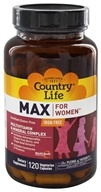 Country Life - Maxi-Sorb Maxine Daily Multiple For Women Iron-Free - 120 Vegetarian Capsules by Country Life
