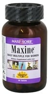 Country Life - Maxi-Sorb Maxine Daily Multiple For Women with Iron - 60 Tablets by Country Life