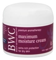 Beauty Without Cruelty - Maximum Moisture Cream - 2 oz. - $11.13