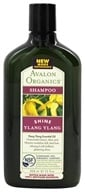 Image of Avalon Organics - Shampoo Shine Ylang Ylang - 11 oz. Formerly Glistening Shampoo