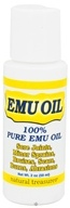 BNG Enterprises - Natural Treasures 100% Pure Emu Oil - 2 oz. by BNG Enterprises