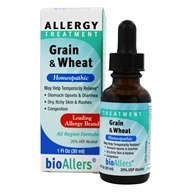 bioAllers - Food Allergies/Grain #704 - 1 oz. (371400704011)