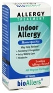 bioAllers - Indoor Allergy - 60 Tablets OVERSTOCKED - $3.79