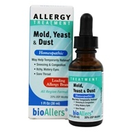 bioAllers - Allergy Treatment Mold Yeast Dust - 1 oz.