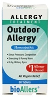bioAllers - Outdoor Allergy - 60 Tablets - $5.49