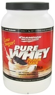 Champion Nutrition - Pure Whey Protein Stack Cookies & Cream - 2.2 lbs. by Champion Nutrition