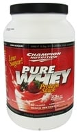 Image of Champion Nutrition - Pure Whey Protein Stack Strawberry - 2.2 lbs.