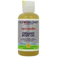 Image of California Baby - Aromatherapy Organic Body Oil Super Sensitive No Fragrance - 4.5 oz.