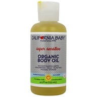 California Baby - Aromatherapy Massage Oil Super Sensitive All Natural No Fragrance - 4.5 oz.
