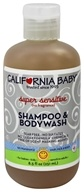 California Baby - Aromatherapy Shampoo & Bodywash Super Sensitive No Fragrance - 8.5 oz.