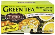 Celestial Seasonings - Honey Lemon Ginseng Green Tea - 20 Tea Bags (070734070372)