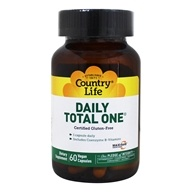 Country Life - Daily Total One with Maxi-Sorb Delivery System with Iron - 60 Vegetarian Capsules - $11.99