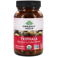 Image of Organic India - Triphala Digestion & Colon Cleanse - 90 Vegetarian Capsules