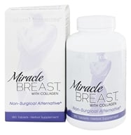 BNG Enterprises - Natural Treasures Miracle Breast - 180 Tablets - $20.85