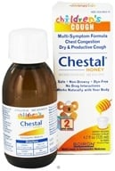 Image of Boiron - Chestal Honey For Children Homeopathic Cough Syrup - 4.2 oz.