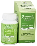 At Last Naturals - Meno-Herbs Wild Yam with Red Clover Gluten Free Menopause Support - 90 Tablets Formerly Born Again