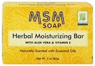 At Last Naturals - MSM Herbal Moisturizing Bar Soap - 3 oz. Formerly Born Again/LUCKY PRICE