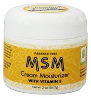 At Last Naturals - MSM Cream Moisturizer - 2 oz. Formerly Born Again