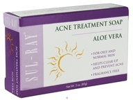 At Last Naturals - Sul-Ray Acne Treatment Sulfur Soap - 3 oz. Formerly Born Again