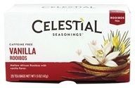 Celestial Seasonings - Rooibos Tea Caffeine Free Vanilla - 20 Tea Bags