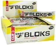 Clif Bar - Shot Bloks Electrolyte Chews 3X Sodium Margarita Flavor - 6 Chews (722252180674)