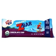 Image of Clif Bar - Kid Z-Bar Organic Chocolate Chip - 1.27 oz.
