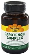 Country Life - Carotenoid Complex Phyto-Nutrient with Lutein and Lycopene - 60 Softgels