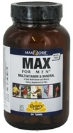 Country Life - Maxi-Sorb Max For Men Multivitamin & Mineral Iron-Free - 60 Tablets (015794081357)