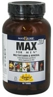 Country Life - Maxi-Sorb Max For Men Multivitamin & Mineral Iron-Free - 60 Tablets by Country Life