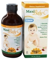Country Life - Maxi Baby-C Liquid Natural Cherry Flavor - 4 oz. by Country Life