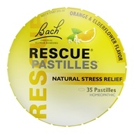 Image of Bach Original Flower Remedies - Rescue Remedy Pastilles - 1.7 oz.