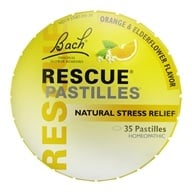 Bach Original Flower Remedies - Rescue Remedy Pastilles - 1.7 oz., from category: Flower Essences