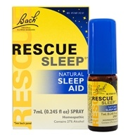 Image of Bach Original Flower Remedies - Rescue Remedy Sleep Natural Sleep Aid - 7 ml.