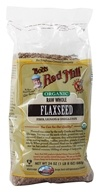 Bob's Red Mill - Organic Natural Raw Whole Flaxseed Brown - 24 oz.