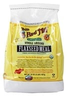 Bob's Red Mill - Flaxseed Meal Whole Ground Organic - 32 oz., from category: Nutritional Supplements