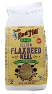 Bob's Red Mill - Flaxseed Meal Golden Organic - 16 oz., from category: Nutritional Supplements