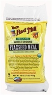 Bob's Red Mill - Flaxseed Meal Whole Ground Organic - 16 oz. (039978009371)