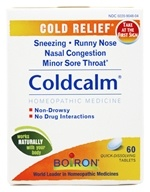 Boiron - Coldcalm - 60 Tablets, from category: Homeopathy