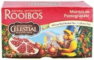Celestial Seasonings - Moroccan Pomegranate Red Caffeine Free - 20 Tea Bags - $2.88
