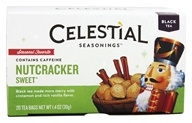Celestial Seasonings - Nutcracker Sweet Holiday Herb Tea - 20 Tea Bags