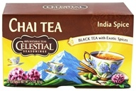 Celestial Seasonings - Original India Spice TeaHouse Chai - 20 Tea Bags (070734054662)