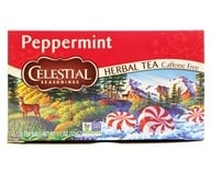 Celestial Seasonings - Peppermint Herb Tea Caffeine Free - 20 Tea Bags (070734000089)