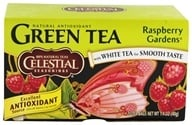 Celestial Seasonings - Raspberry Gardens Green Tea - 20 Tea Bags