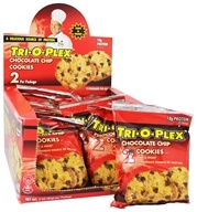 Chef Jay's - Tri-O-Plex Cookies Chocolate Chip - 2 Pack(s), from category: Nutritional Bars