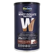 Biochem by Country Life - 100% Whey Protein Powder Chocolate Fudge - 15.4 oz.