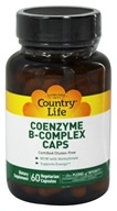Country Life - Coenzyme B Complex Caps - 60 Vegetarian Capsules