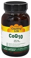 Country Life - CoQ10 100 mg. - 60 Vegetarian Capsules, from category: Nutritional Supplements